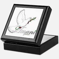 Amani - Peace - Keepsake Box