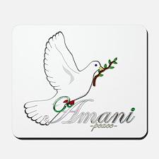 Amani - Peace - Mousepad