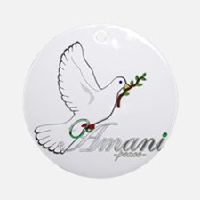 Amani - Peace - Ornament (Round)
