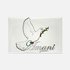 Amani - Peace - Rectangle Magnet