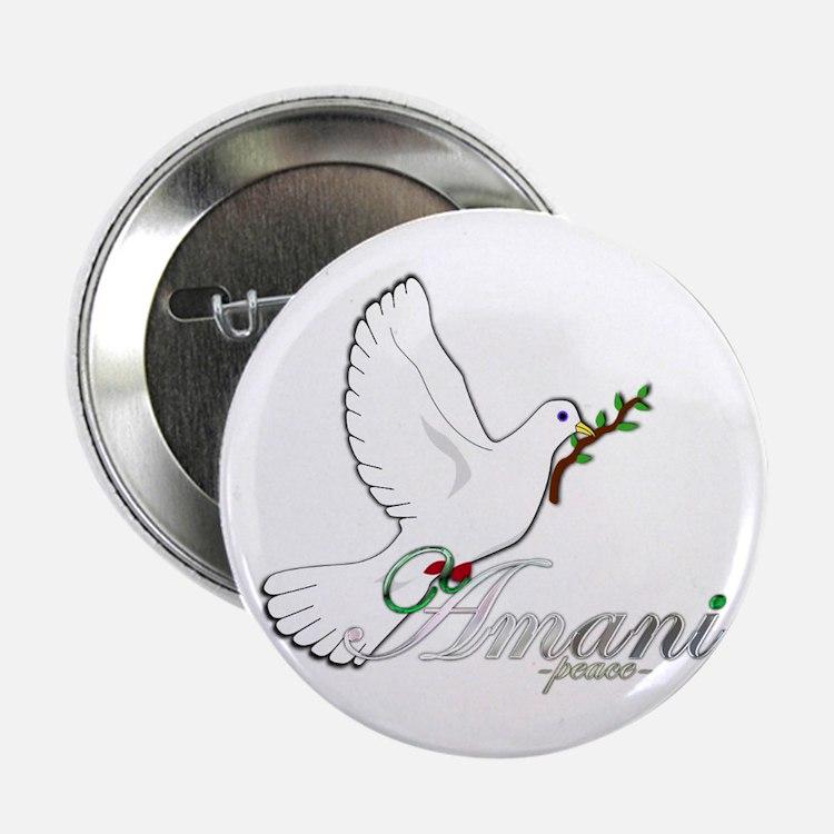 "Amani - Peace - 2.25"" Button"