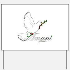 Amani - Peace - Yard Sign