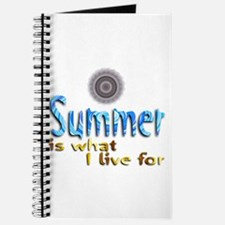 Summer Is What I Live For - Journal