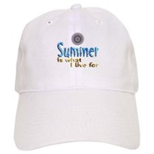 Summer Is What I Live For - Baseball Cap