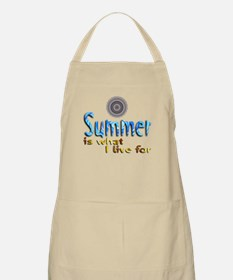 Summer Is What I Live For - BBQ Apron