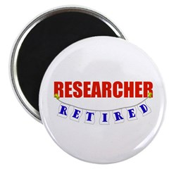 Retired Researcher Magnet