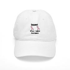 Support Breast Cancer Awarene Baseball Cap