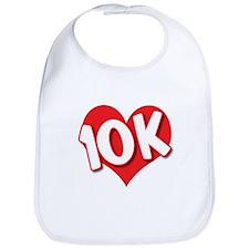 10 K Love Bib