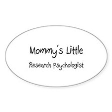Mommy's Little Research Psychologist Decal