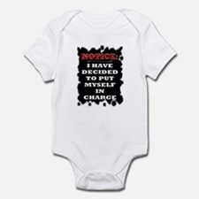 Notice: - Infant Bodysuit