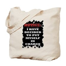Notice: - Tote Bag