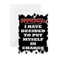 Notice: - Greeting Card