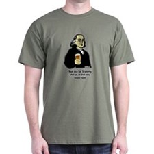 Beer Philosophers Ben Franklin T-Shirt