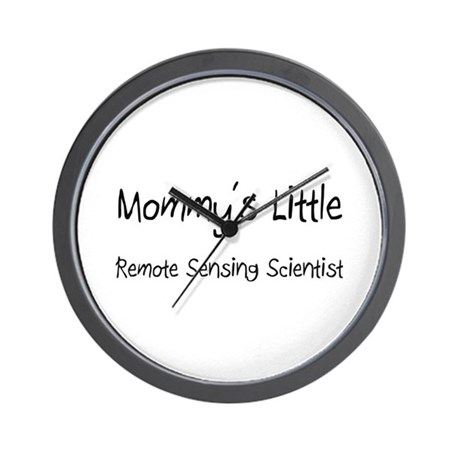 Mommy's Little Remote Sensing Scientist Wall Clock