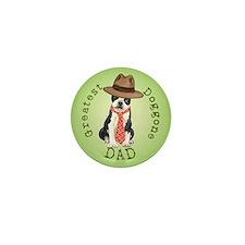 Boston Dad Mini Button