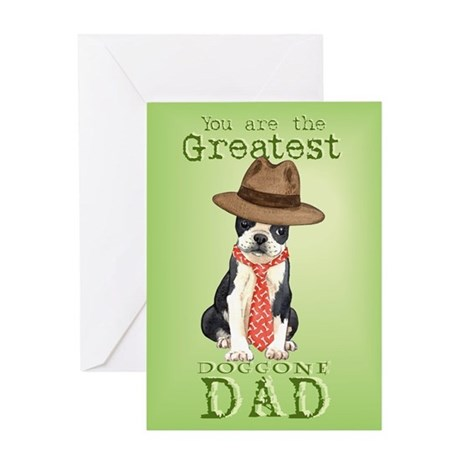 Boston Father's Day Greeting Card