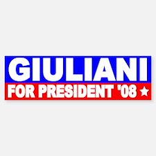 Rudy Giuliani Bumper Bumper Bumper Sticker Bumper Bumper Bumper Sticker