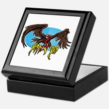 Vulture Attack Keepsake Box