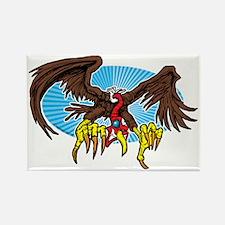 Vulture Attack Rectangle Magnet