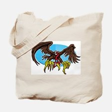 Vulture Attack Tote Bag