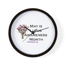 Lupus Awareness Month Wall Clock