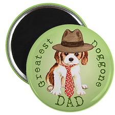 Cavalier Dad Magnet