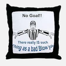 Bad Blow Throw Pillow