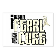 I Wear Pearl For The Cure 6 Postcards (Package of