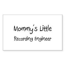 Mommy's Little Recording Engineer Decal