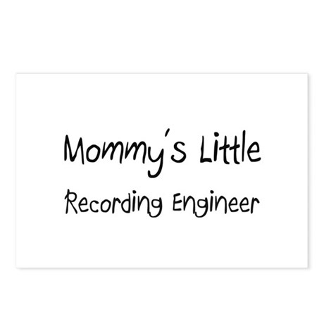Mommy's Little Recording Engineer Postcards (Packa