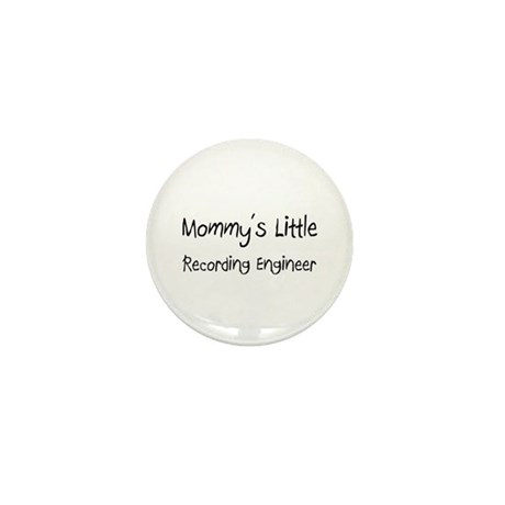 Mommy's Little Recording Engineer Mini Button