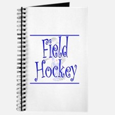 Field Hockey Goalie Journal - Blue