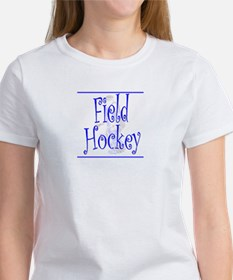 Field Hockey Goalie Women's T-Shirt - Blue