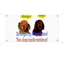 Two Dog Alert Banner