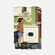 Vintage Mom Rectangle Decal