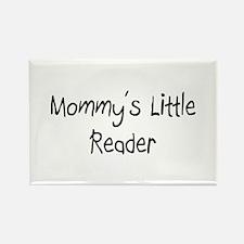 Mommy's Little Reader Rectangle Magnet