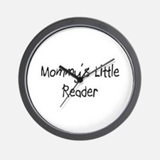 Mommy's Little Reader Wall Clock