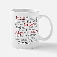 World Cities Mug