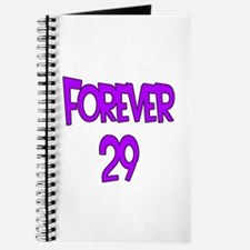 Forever 29 2 purple Journal