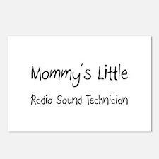 Mommy's Little Radio Sound Technician Postcards (P