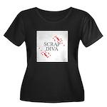 Scrapbooking - Scrap Diva Women's Plus Size Scoop