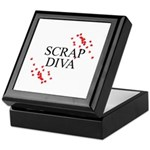 Scrapbooking - Scrap Diva Keepsake Box