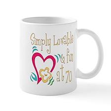 Lovable 70th Mug