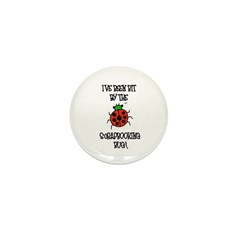 Bit By the Scrapbooking Bug Mini Button (10 pack)