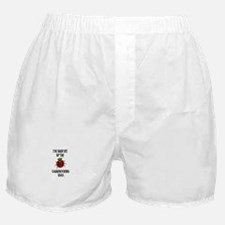 Bit By the Scrapbooking Bug Boxer Shorts