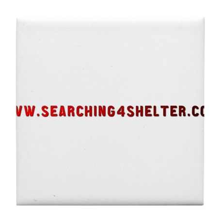 Searching4Shelter Tile Coaster