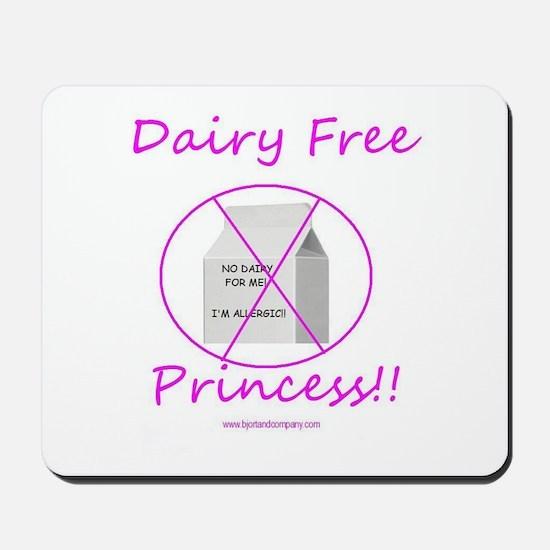 Dairy Free Princess Mousepad