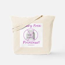 Dairy Free Princess Tote Bag