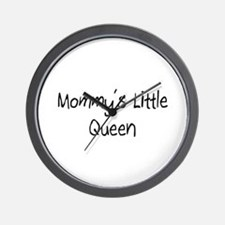 Mommy's Little Queen Wall Clock