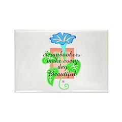 Scrapbookers - Make Days Beau Rectangle Magnet (10